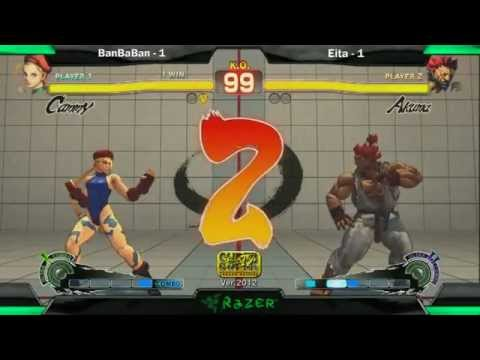 SS2K12 AE2012: Banbaban (Cammy) vs Eita (Akuma)- Day 2 (Grand Final)