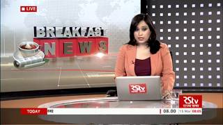 English News Bulletin – Mar 15, 2018 (8 am)