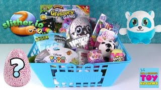 Hatchimals Colleggtibles Disney Slitherio Trolls Shopkins Blind Bag Basket | PSToyReviews