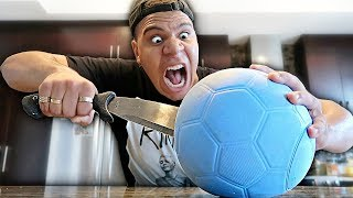 THIS BALL CAN NOT BE POPPED!! (IMPOSSIBLE CHALLENGE)
