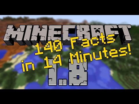 Minecraft 1.8.1 Pre Release - The Bountiful Update [Release] - What is new? 140 Facts in 14 Minutes!