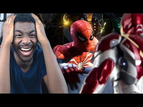 I DON'T FEEL SO GOOD MR. STARK! Spiderman PS4 E3 2018 Trailer LIVE REACTION
