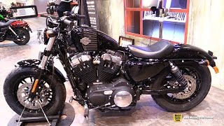 2016 Harley Davidson Forty Eight - Walkaround - 2015 Salon de la Moto Paris