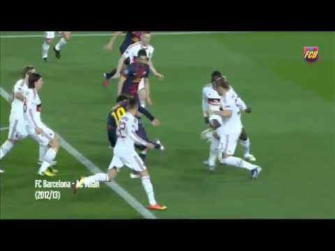 #Leo Messi – Top 10  goals UEFA Champions League