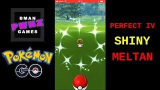 Pokemon Go - Perfect 100% IV Shiny Meltan   BmanPwnz Games