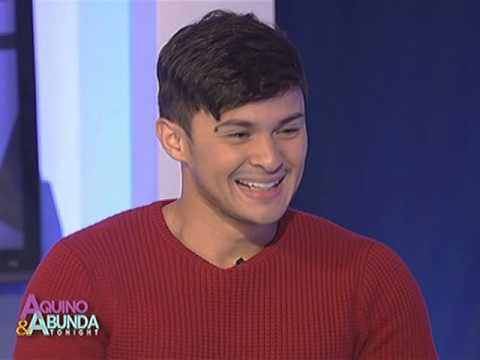 How often Matteo Guidicelli see Sarah Geronimo in a week?