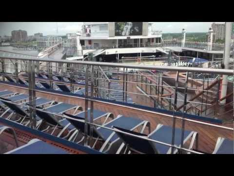 Video and pictures of the Carnival Glory Cruise Ship, including outdoors ...