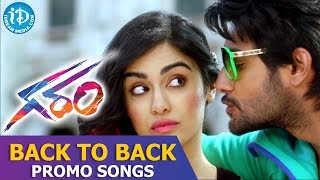 Garam Movie Full Video Songs || Back To Back Promo Songs || Aadi, Adah Sharma || Agasthya