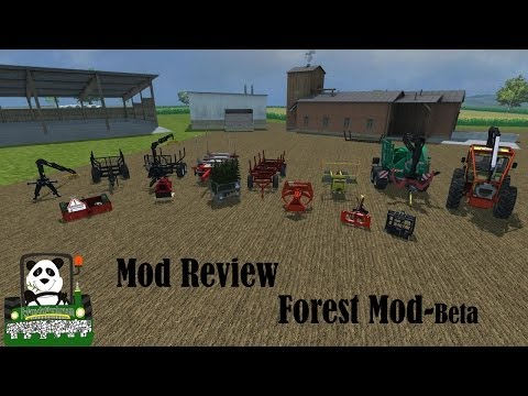 Farming Simulator 2013 Mod Review Forest Mod beta
