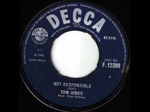 Tom Jones...Not Responsible ...   1966