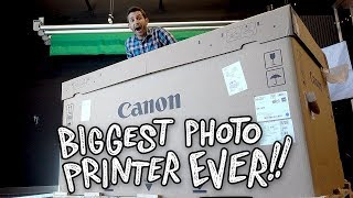 Unboxing the Biggest Photo Printer Ever: Canon imagePROGRAF PRO-4000