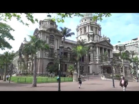City Hall and Central Post Office, Durban, Oct. 06-3. S. Africa 2015