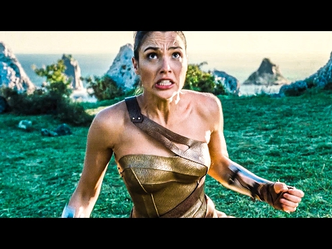 WONDER WOMAN Trailer 1 - 3 (2017)