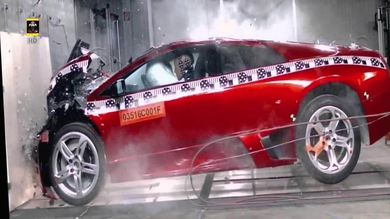 Lamborghini Veneno Crash Test Youtube