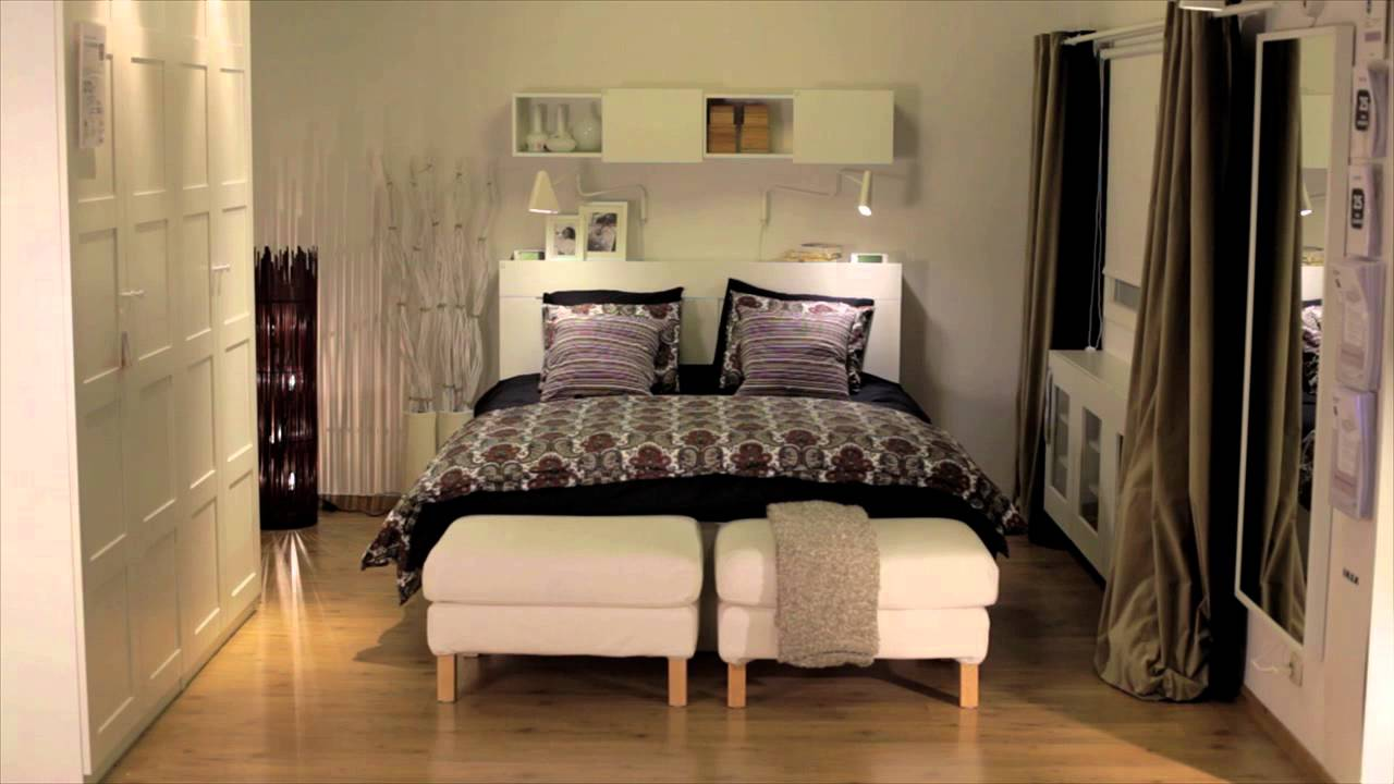 ikea hoe de sfeer in de slaapkamer veranderen met textiel youtube. Black Bedroom Furniture Sets. Home Design Ideas