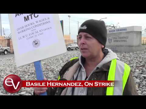 Port of Long Beach and Los Angeles stalled as workers strike
