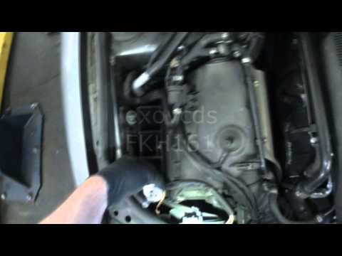 VW B5: Passat Replacing Low Beam Headlight Bulbs (H7)