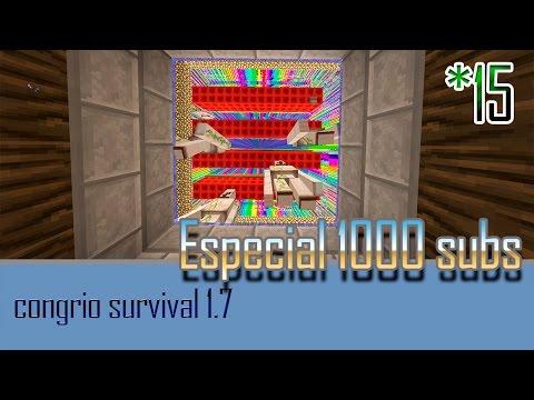 Congrio survival 1.7 - ep15 ESPECIAL 1000 SUBS IPU-128 / IRON PROCESSING UNIT / parte 2/2