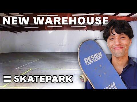 I'm FINALLY Building My Skatepark   My New Warehouse