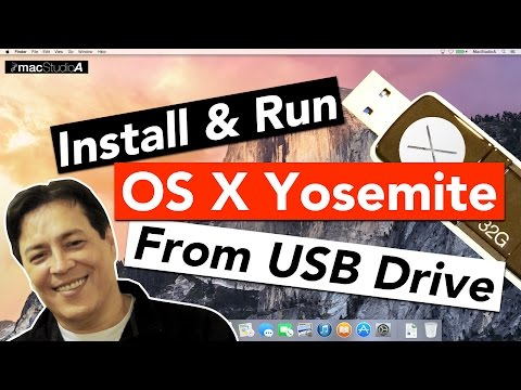 Install and Run OS X Yosemite From A USB Flash Drive