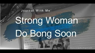 Journal With Me: Strong Woman Do Bong Soon