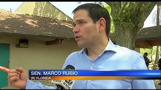 Video: Marco Rubio Visits Lido Beach