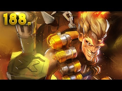 BLIND JUNKRAT KILLS (0.095% VERY LUCKY) | OVERWATCH Daily Moments Ep. 188 (Funny and Random Moments)