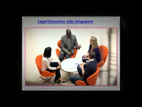 Suitable Legal Executive Jobs in Singapore