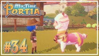 Colourful Llama Mount #34 - My Time at Portia (Alpha 10.0) - Let's Play