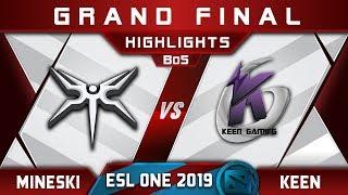 Mineski vs Keen Grand Final ESL One Mumbai 2019 Highlights Dota 2