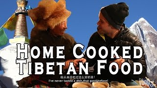 Amazing Tibetan Food Feast - Eating In A Tibetan Home!