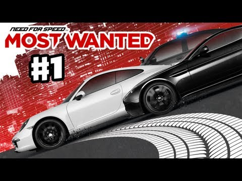 Need for Speed: Most Wanted 2012 Gameplay Part 1 XBox 360 PS3 NFS01