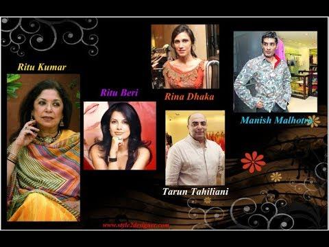 India's Top 10 Fashion Designer