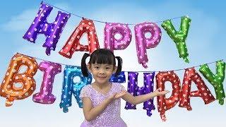 Chúc Mừng Sinh Nhật Tân An Lần Thứ 6 ❤ AnAn ToysReview TV ❤