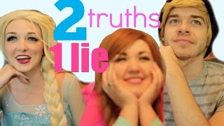 2 TRUTHS & A LIE - Anna, Elsa, and Kristoff