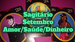 SAGITÁRIO PREVISÕES SETEMBRO 2019 AMOR TRABALHO SAÚDE DINHEIRO BARALHO CIGANO TARÔ