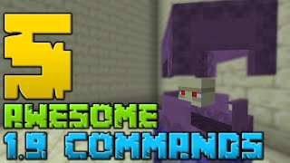 5 Awesome Minecraft 1.9 Commands