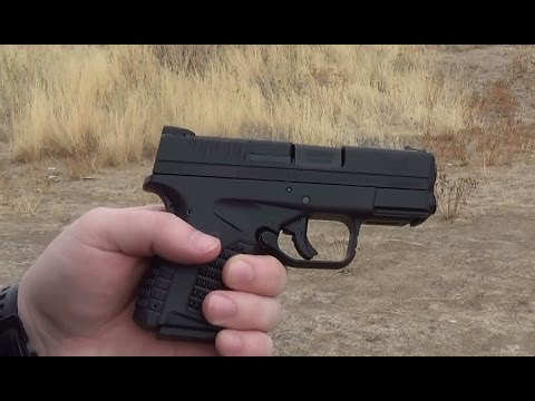 Springfield XDS 3.3 9mm Review/ Shooting.