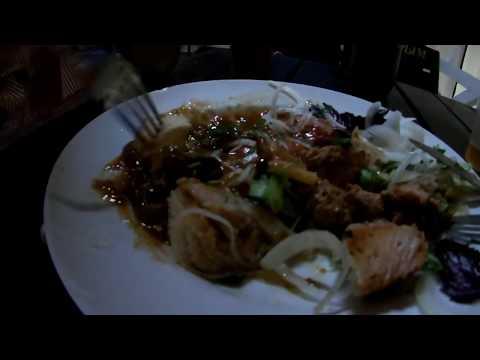 Где самые вкусные шашлыки в Евпатории? Ночная набережная в Крыму