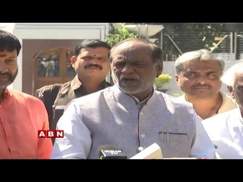 BJP Leader Laxman  | BJP Press Meet From Raj Bhavan | ABN Telugu