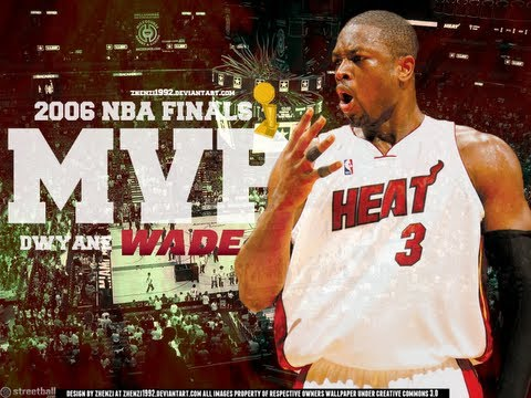 Dwyane Wade - One Man Show - Flashback: NBA Finals 2006 HD