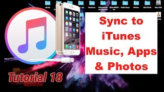 Sync Music, Apps and Photos through iTunes 12.6 [Full Guide]   Tutorial 18