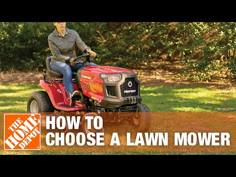 Dave from our How-To Community discusses the different types of lawn mowers available at The Home Depot.