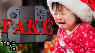 Top 10 Kids Freaking Out Opening Christmas Gifts