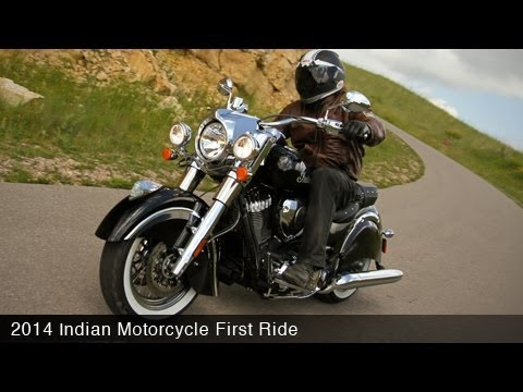 2014 Indian Chieftain First Ride - MotoUSA