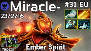 Miracle- [Liquid] plays Ember Spirit!!! Dota 2 7.21
