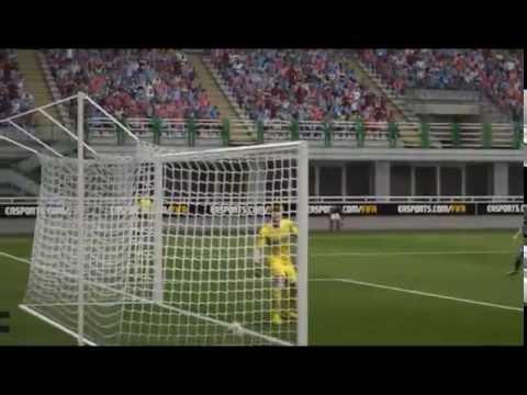 FIFA 15 Riccardo Montolivo free kick goal