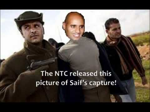 SAIF AL-ISLAM GADDAFI, THE LIES AND PROPAGANDA 30.10.11 LIBYA ON WAR