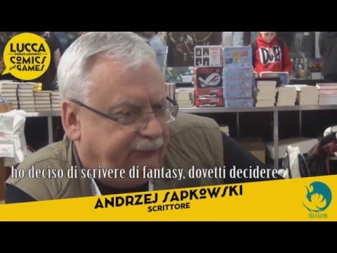 Интервью с Анджеем Сапковским на «Comics & Games 2015»