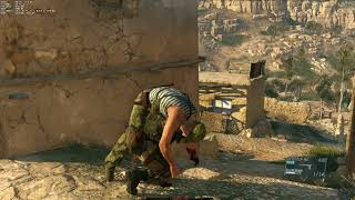 TV SONY XE9005 MOTION FLOW ON Metal Gear Solid V The Phantom Pain
